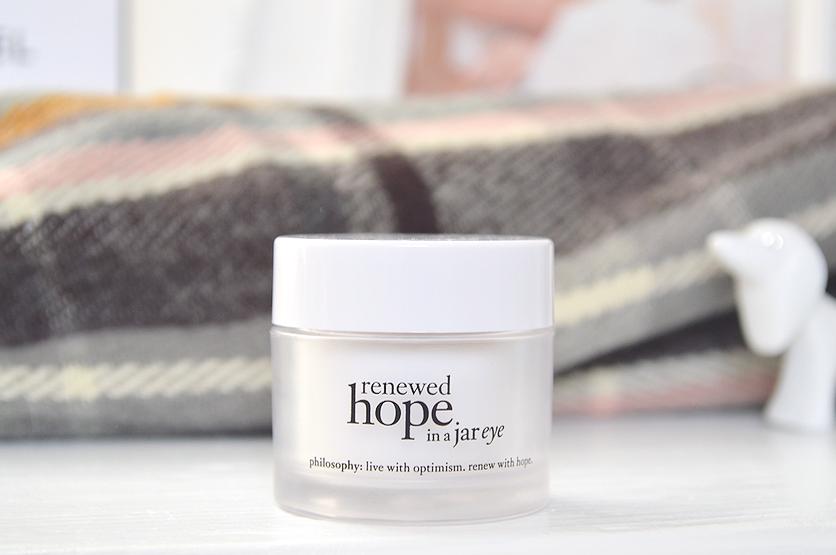 renewed hope in a jar eye cream