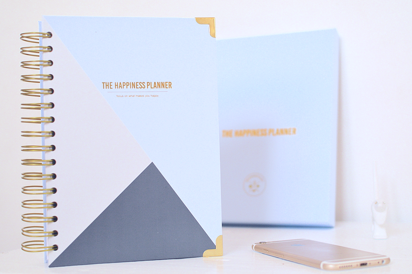 blue happiness planner
