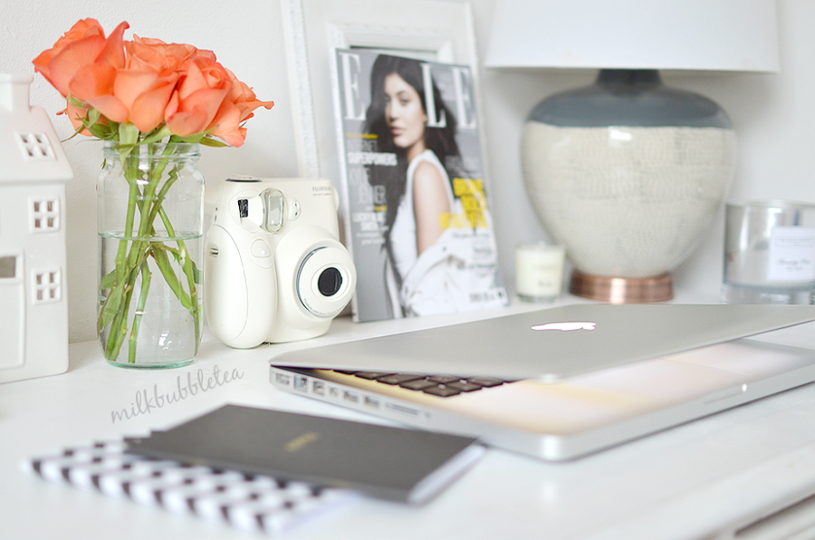 Create a desk makeover on a tiny budget