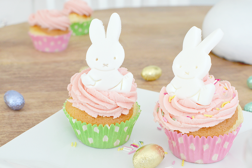 miffy easter cupcakes