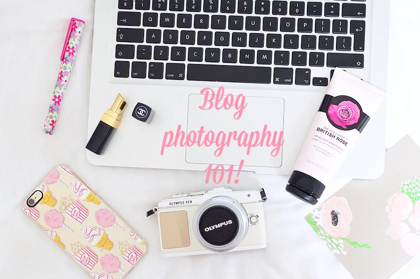 Blogging photography 101