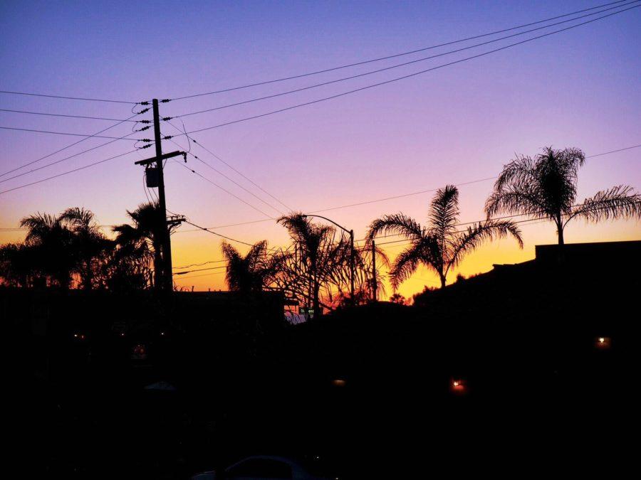 sky sunset laguna