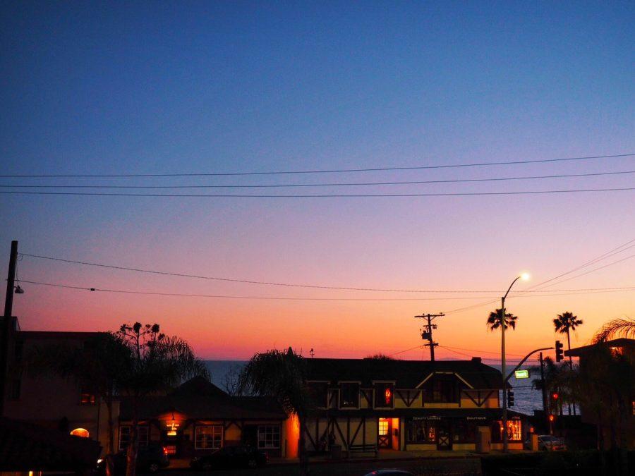 sunset laguna