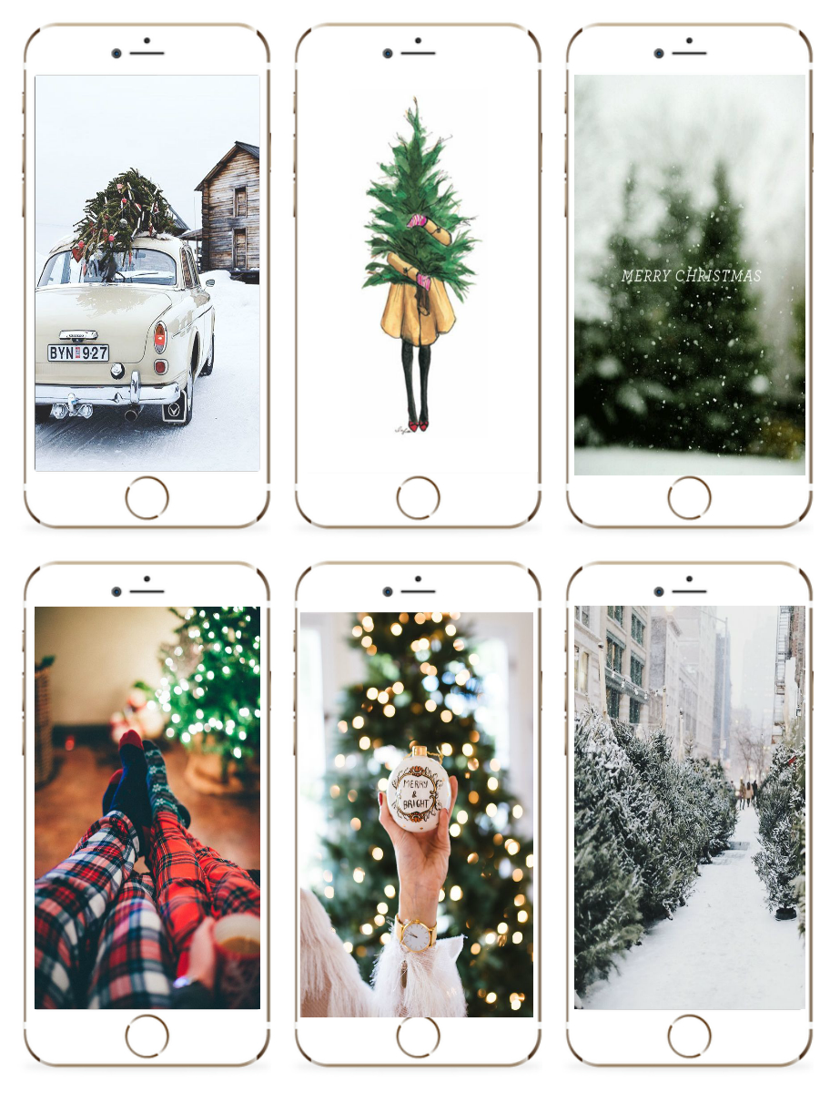 Christmas iPhone Wallpapers 2016! - Milk Bubble Tea