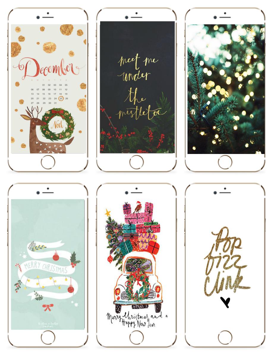 Christmas Iphone Wallpapers 2016 Milk Bubble Tea